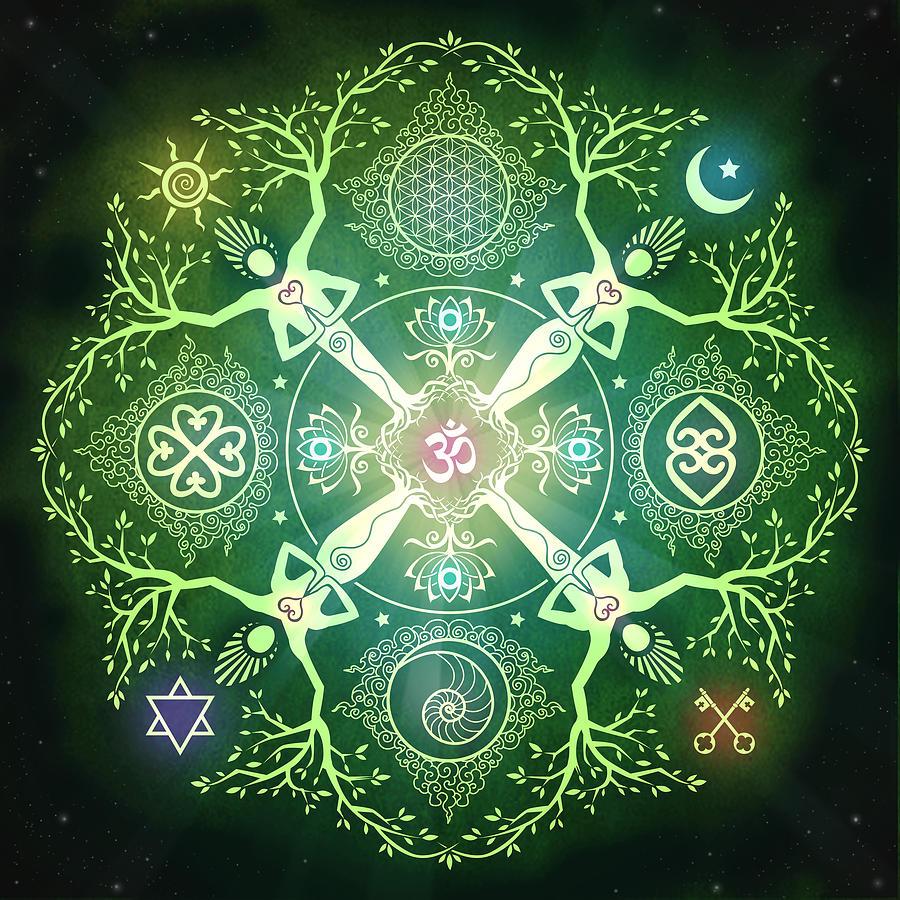 Ez a Mandala elhozza Neked, segít megteremteni azt, amire vágysz!Mandala amely megnyitja számodra a bőség kapuját!Mágnesként vonzza a pénzt!