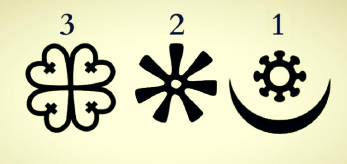 Válassz ki egy afrikai szimbólumot a 3 közül, fontos üzenetet kapsz az Univerzumtól!