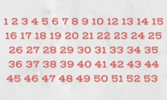 Milyen hamar találod meg a hiányzó számot? A legtöbbeknek nem sikerül 10 másodperc alatt