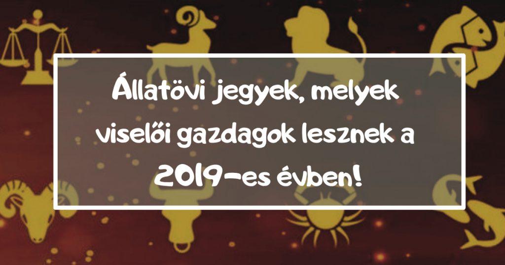 Pénzügyi asztrológiai előrejelzés a 2019-es évre