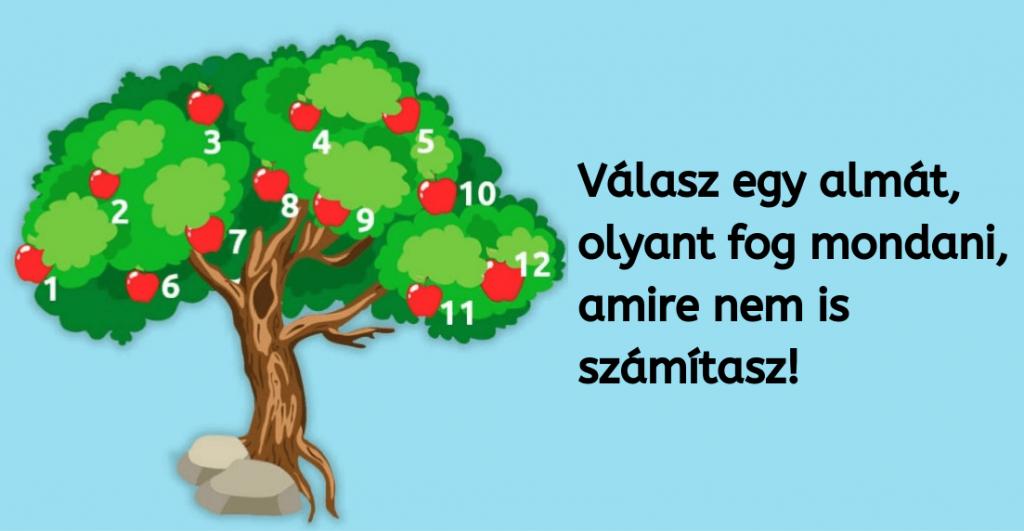 Válasz egy almát a 11 közül és olvasd el mit ír az álmaidról
