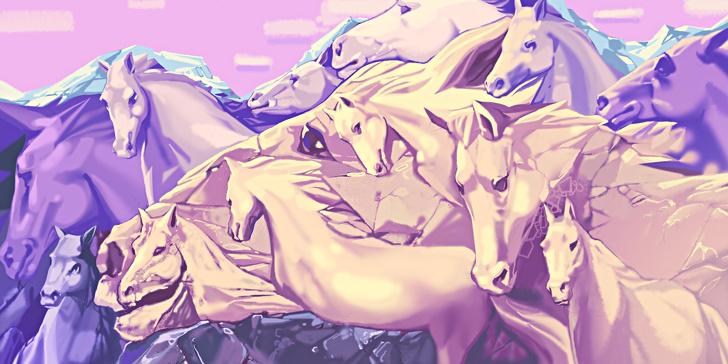 Egyszerű kérdés, de a személyiségedről sokat elárul... Hány lovat látsz?