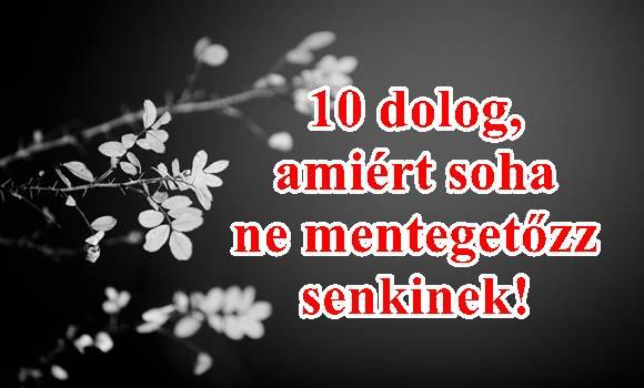 10 dolog, amiért soha nem kellene mentegetőznöd!