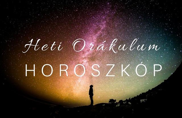 Orákulum horoszkóp 2019. augusztus 12-18. között!