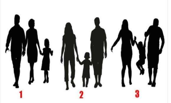 Szerinted melyik család a legboldogabb? A döntésed megmutatja, milyen ember vagy valójában…