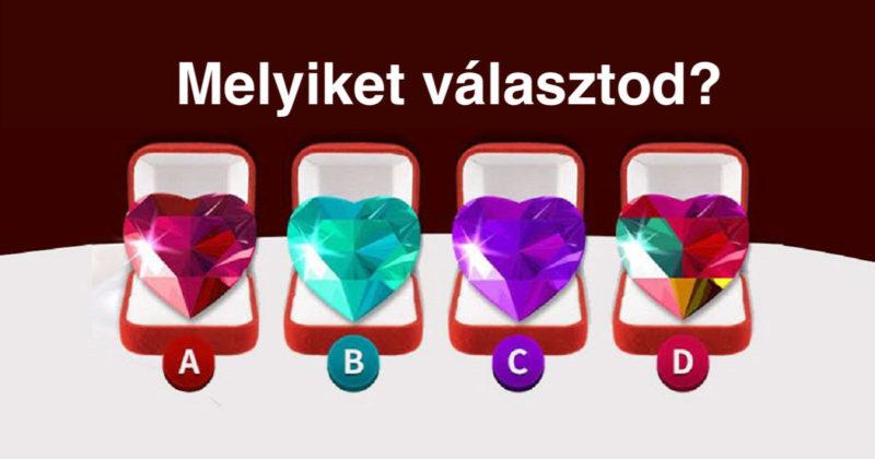 Pszichológiai teszt: válassz egyet a 4 szív közül és ismerd meg jobban önmagad!